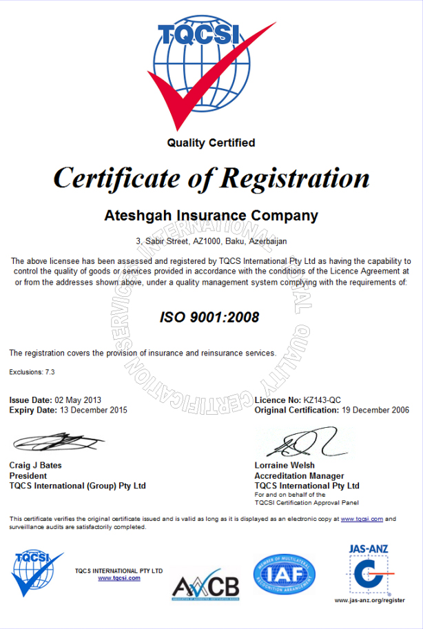 ISO 9001:008
